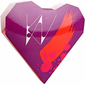 Kate Weiser Chocolate Light & Bright Heart Bar, ea