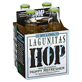 Lagunitas Hoppy Refresher Nonalcholic, 12 oz Bottles, 4 pk