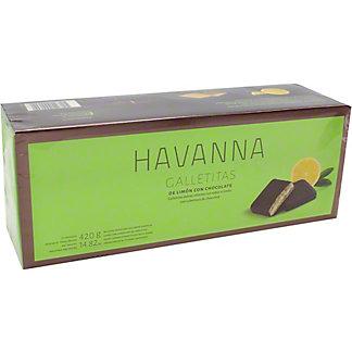 Havanna Galletitas Lemon Cookies With Chocolate, 14.8 oz