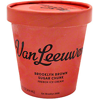 Van Leeuwen Brooklyn Brown Sugar Chunk French Ice Cream, 14 oz