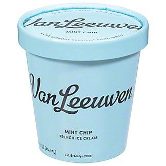 Van Leeuwen Mint Chip Ice Cream, 14 oz