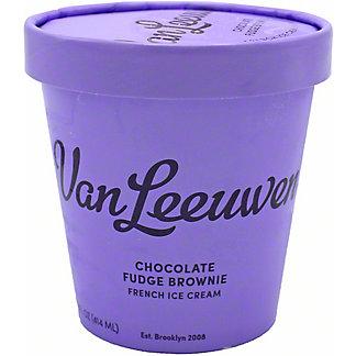 Van Leeuwen Chocolate Fudge Brownie French Ice Cream, 14 oz