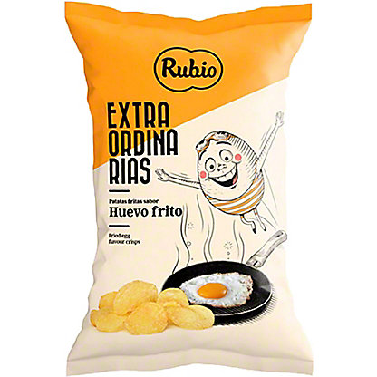 Rubio Fried Egg Potato Crisps, 4.06 oz