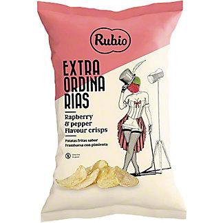 Rubio Raspberry & Pepper Potato Crisps, 3.88 oz