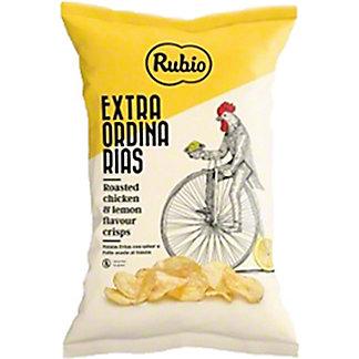 Rubio Roasted Chicken And Lemon Potato Crisps, 3.88 oz
