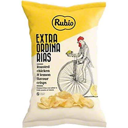 Rubio Roasted Chicken And Lemon Potato Crisps, 3.88 oz
