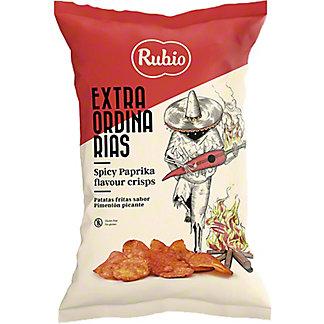 Rubio Spicy Paprika Potato Crisps, 3.88 oz