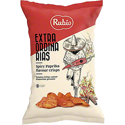Rubio Spicy Paprika Potato Crisps, 3.88 oz