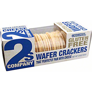 2s Company Gluten Free Wafer Crackers, 3.5 oz