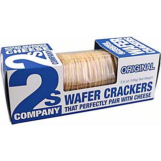 2s Company OriginalWafer Crackers, 3.5 oz