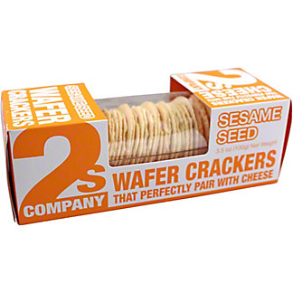 2s Company Sesame Wafer Crackers, 3.5 oz