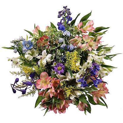 Central Market Delphinium Meadow Bouquet, ea