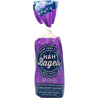H&H Bagels Cinnamon Raisin, 6 ct