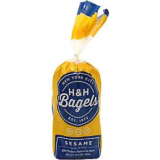 H&H Bagels Sesame, 6 ct