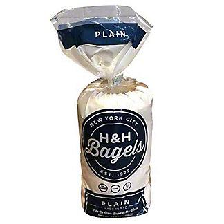 H&H Bagels Plain, 6 ct