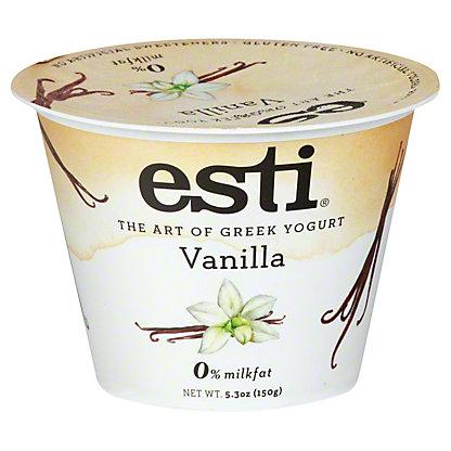 Esti 0% Vanilla Greek Yogurt, 5.3 oz