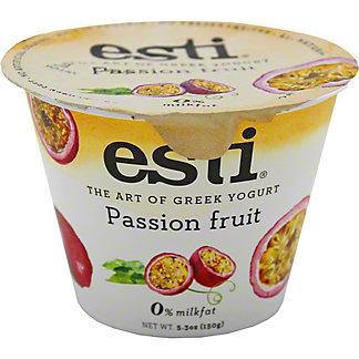 Esti 0% Passion Fruit Greek Yogurt, 5.3 oz