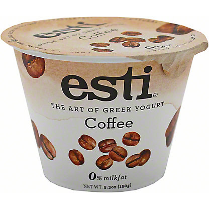 Esti 0% Coffee Greek Yogurt, 5.3 oz