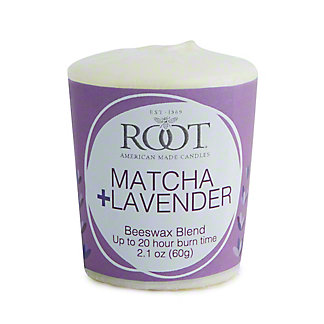 Root Wellness Collection Lavender & Matcha Votive, ea