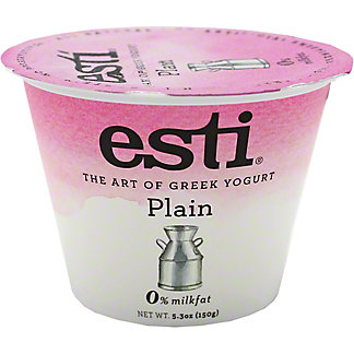 Esti 0% Plain Greek Yogurt, 5.3 oz