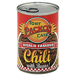 Tony Packo's Cafe World Famous Chili With Beans, 15 oz