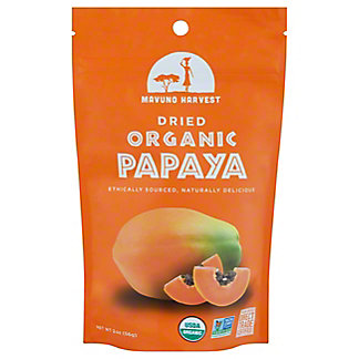 Mavuno Harvest Organic Dried Papaya, 2 oz