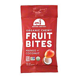 Mavuno Harvest Mango & Coconut Organic Chewy Fruit Bites, 1.76 oz