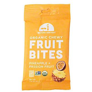 Mavuno Harvest Organic Chewy Bites Pineapple Passion Fruit, 1.76 oz