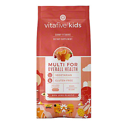 Vitafive Kids Multivitamin For Overall Health Gummies, 60 ct
