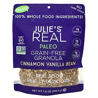 Julie's Real Paleo Grain-Free Cinnamon Vanilla Bean Granola, 7 oz