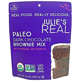 Julie's Real Paleo Dark Chocolate Brownie Mix, 7 oz