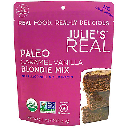 Julie's Real Paleo Caramel Vanilla Blondie Mix, 7 oz