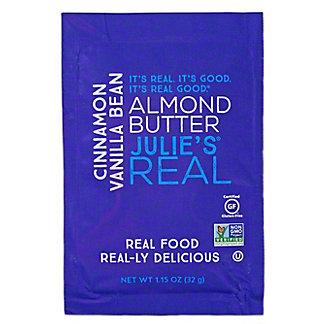 Julie's Real Cinnamon Vanilla Bean Almond Butter Packet, 1.15 oz