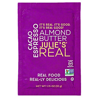 Julie's Real Cacao Espresso Almond Butter Packet, 1.15 oz