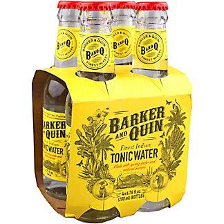 Barker And Quin Finest Indian Tonic Water, Bottles, 4 pk, 6.76 fl oz ea