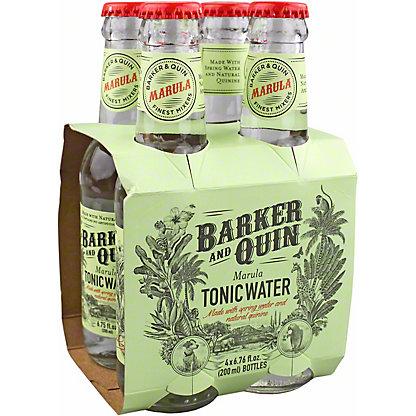 Barker And Quin Marula Tonic Water, Bottles, 4 pk, 6.76 fl oz ea