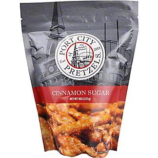 Port City Pretzels Cinnamon Sugar, 8 oz