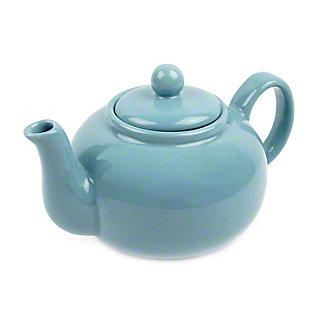 RSVP International Turquoise Stoneware Teapot, 16 oz