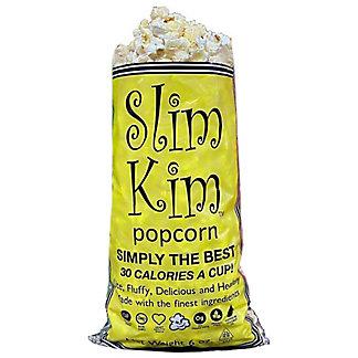 Slim Kim Plain Popcorn, 6 oz