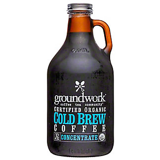 Groundwork Cold Brew Coffee Concentrate, 32 fl oz