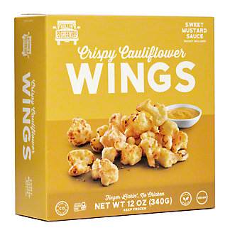 Rollingreens Cauliflower Sweet Mustard Wings, 15 oz