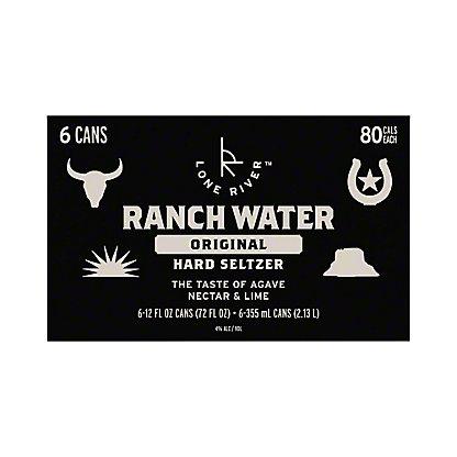 Ranch Water Hard Seltzer, 6 pk Cans, 12 fl oz ea