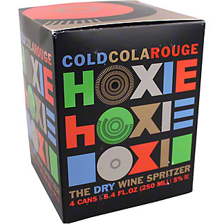 Hoxie Cold Cola Rouge Spritzer, Cans, 4 pk, 8.4 fl oz ea