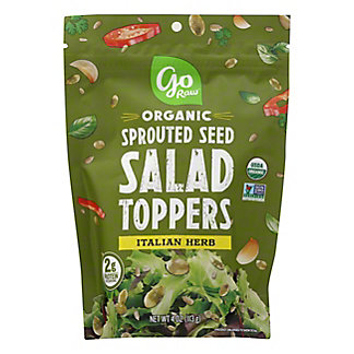 Go Raw Italian Herb Salad Toppers, 4 oz