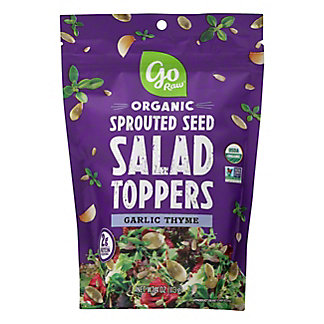 Go Raw Garlic Thyme Sprouted Seeds Salad Toppers, 4 oz