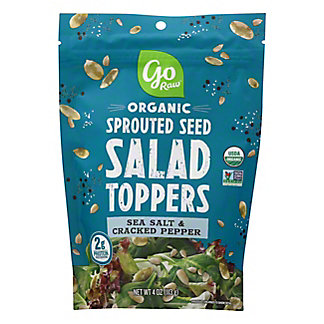 Go Raw Sea Salt & Pepper Salad Toppers, 4 oz
