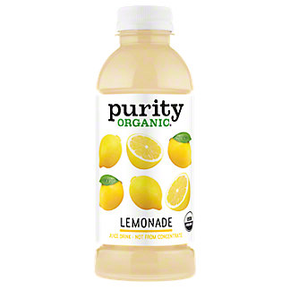 Purity Organic Lemonade, 16.9 oz