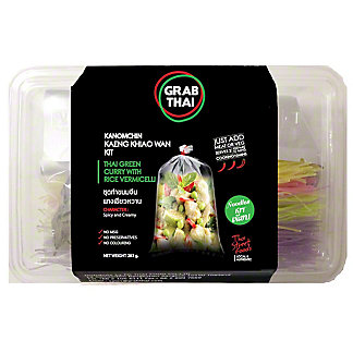 Grab Thai Green Curry With Rice Vermicelli Kit, 283 g