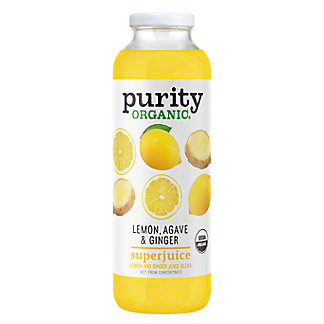 Purity Organic Lemon Agave & Ginger SuperJuice, 16 oz