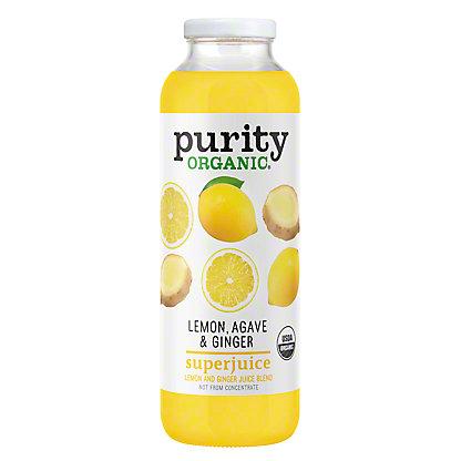 Purity Organic Lemon Agave & Ginger SuperJuice, 16 oz
